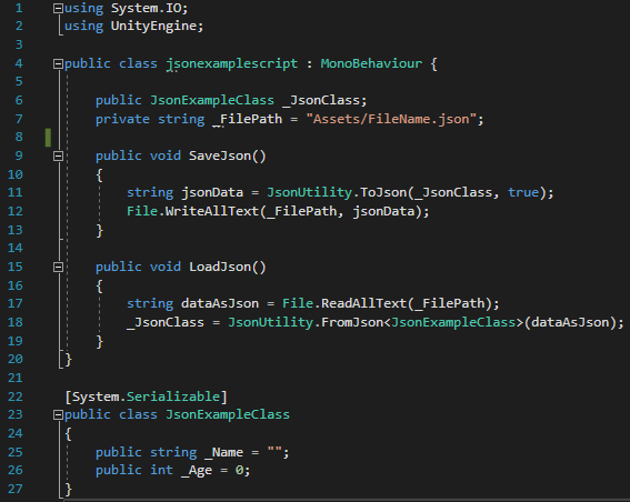 Json Save And Load Example